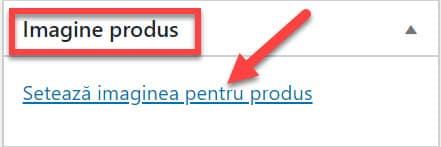 Establece la imagen del producto.