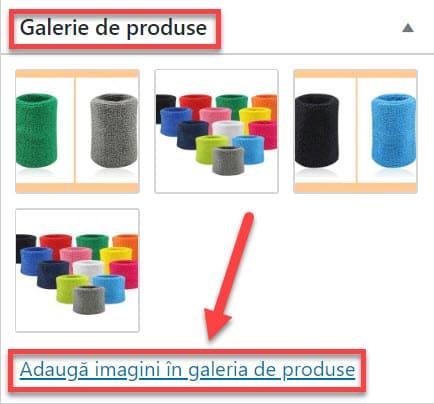 Galería de productos