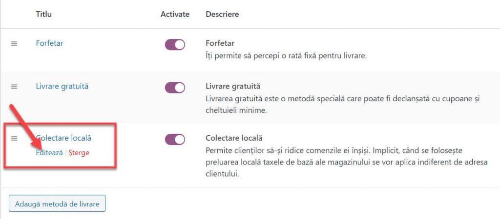 Haga clic en Colección local