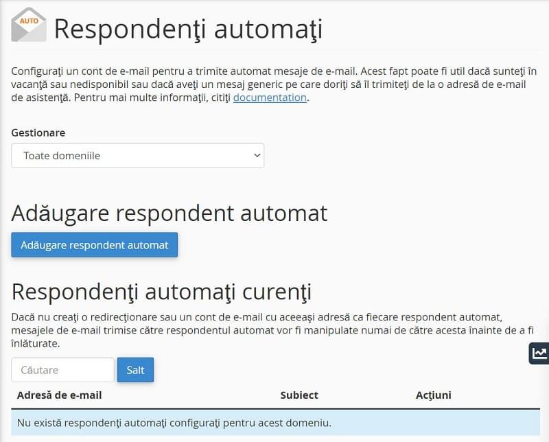 Interfaz de respuesta automática
