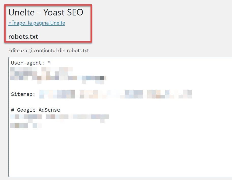 Editor de Yoast