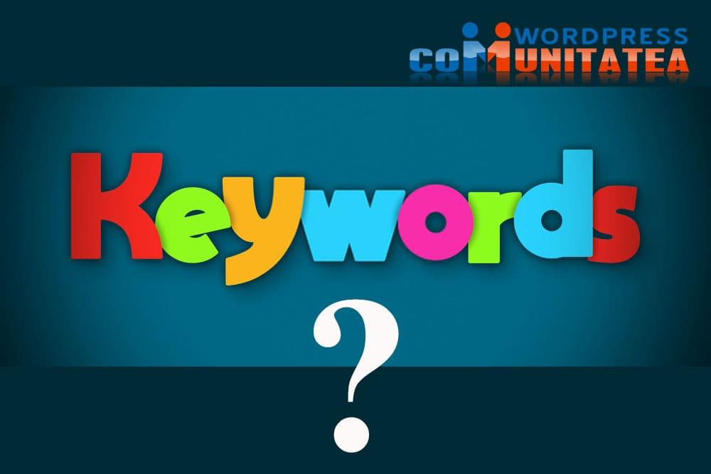 Bazele SEO - Ce este un cuvânt cheie ?