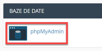 Bases de datos PhpMyAdmin