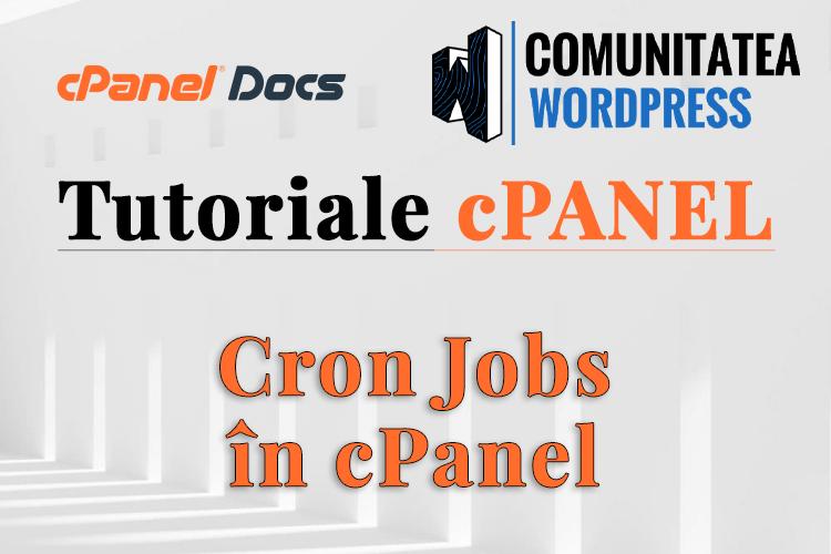 Cron Jobs - Cum se configurează în cPanel