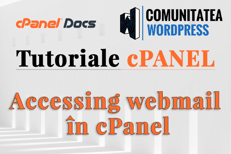 Cum accesezi un client webmail direct din cPanel