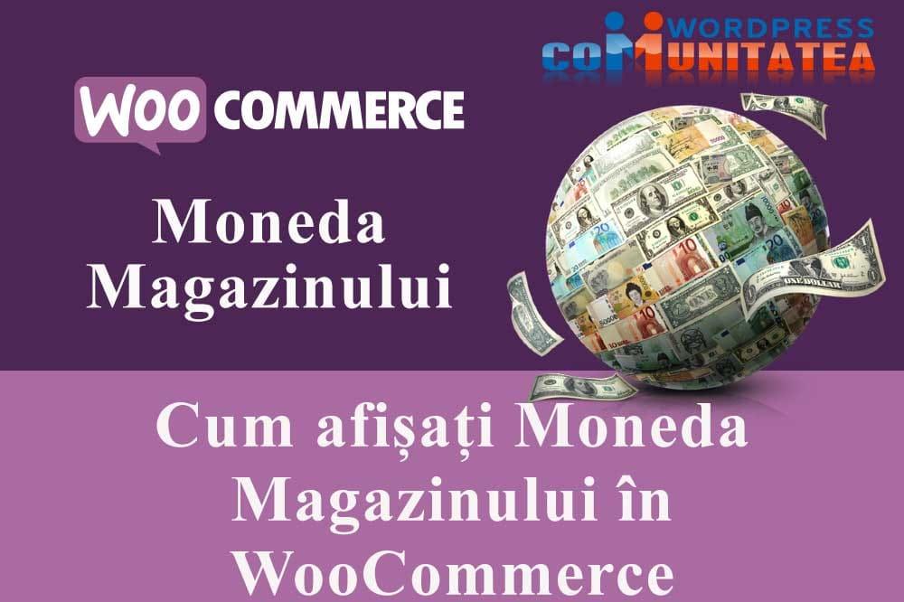 Cum afișați Moneda Magazinului în WooCommerce