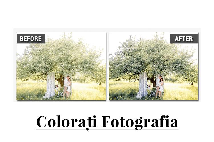 ¿Cómo corregir el color de una foto fácil y fácilmente en Photo-Work?