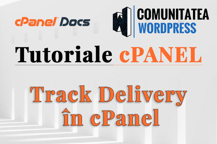 Cum să urmăriți livrarea unui email în interfața cPanel