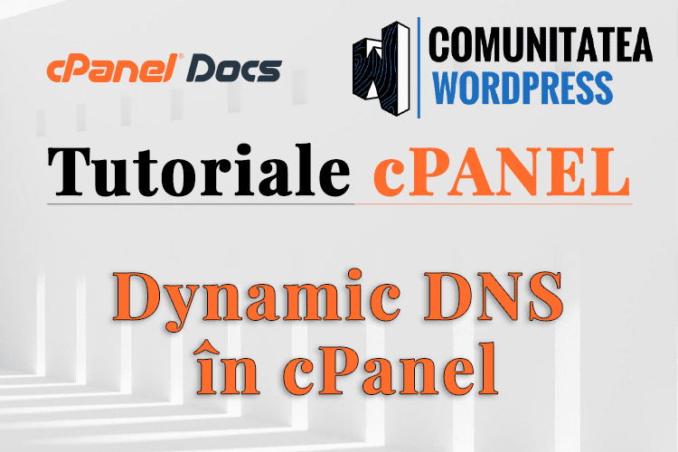 DNS Dinamic - Cum se configurează în interfața cPanel
