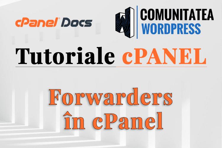 Forwarders - Redirecționați e-mailurile primite către o altă adresă în cPanel