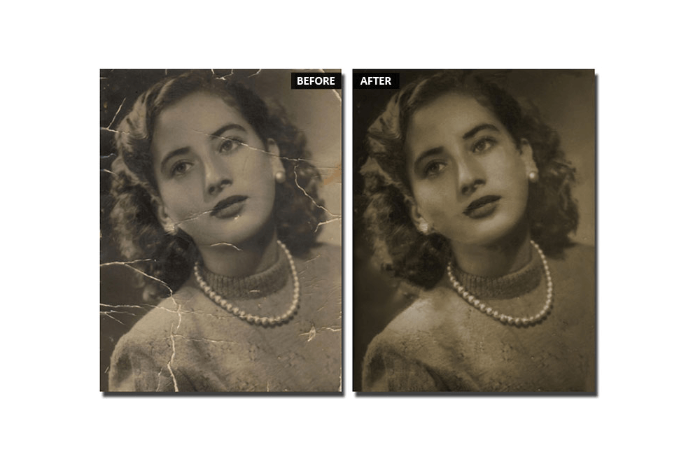 Foto antigua: ¿cómo se restaura para que parezca nueva?