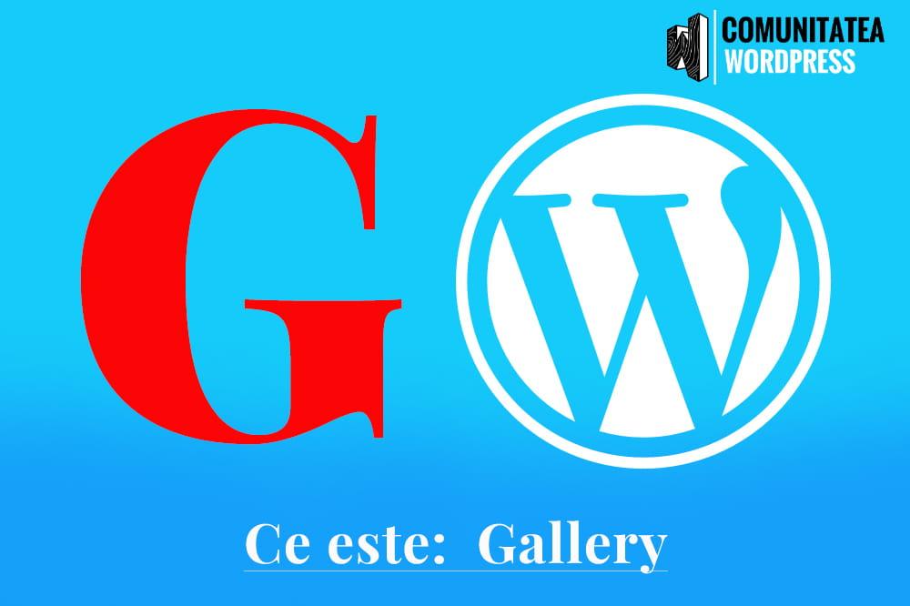 Ce este: Gallery – Galerie