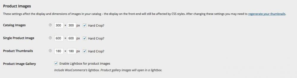 Dimensiones de imagen estándar