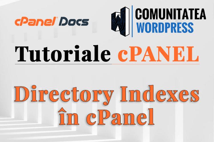 Índices de directorio: cómo configurar en cPanel