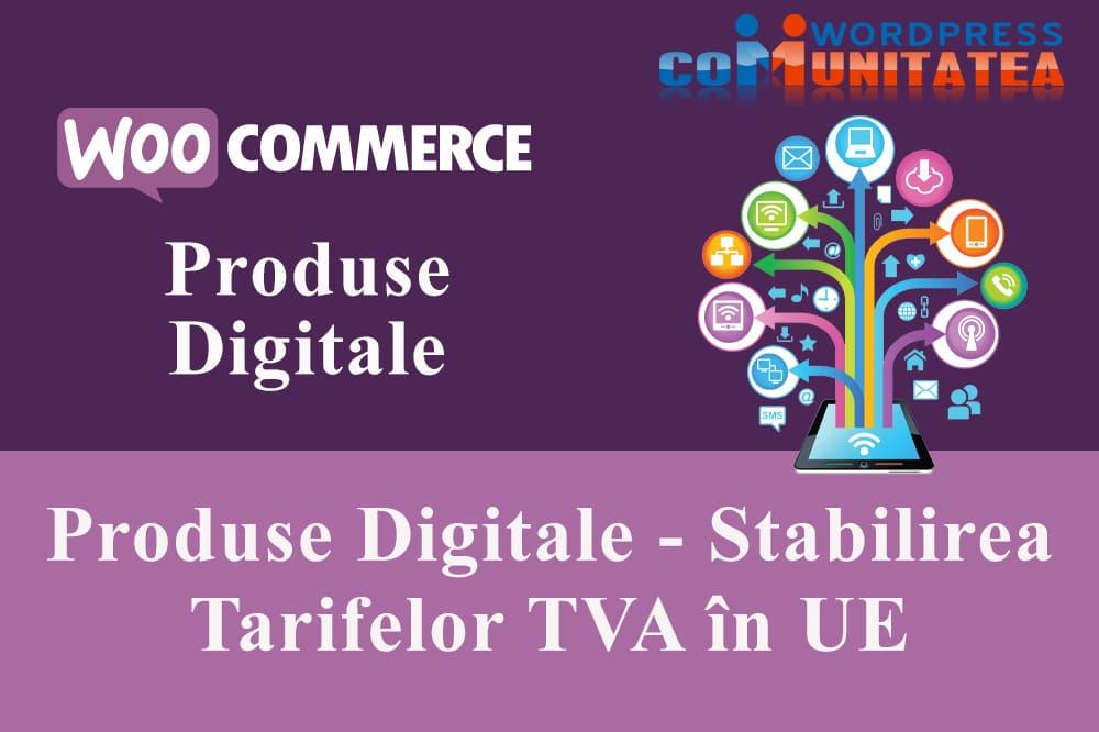 Produse Digitale - Stabilirea Tarifelor TVA în Uniunea Europeană