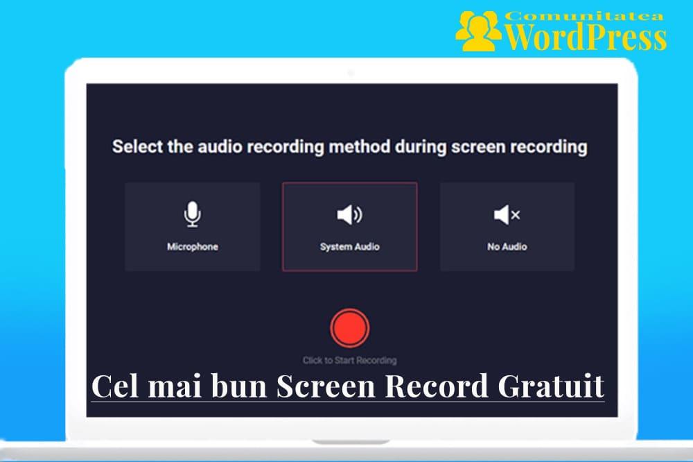 RecordCast - Cel mai bun Screen Record Gratuit