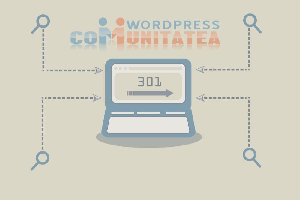 Redirecționare 301 - Cum se creează în Wordpress