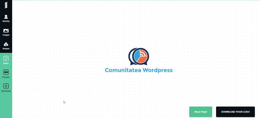 Creador de logotipos de GraphicSprings