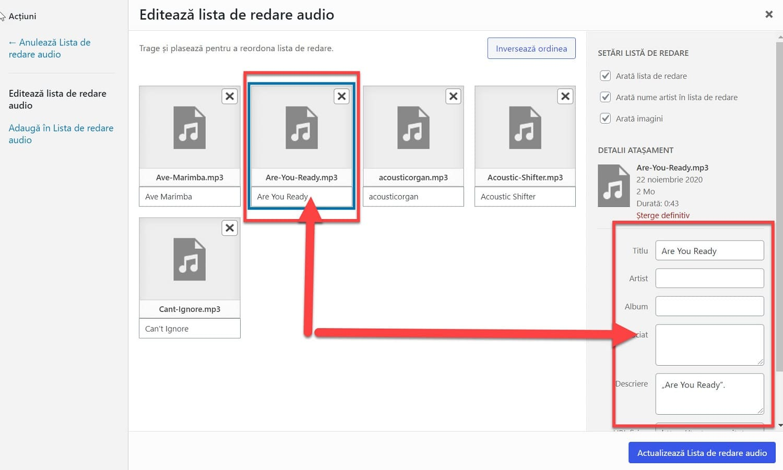 Editar archivo de audio