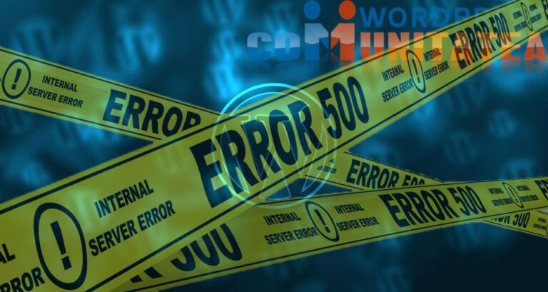 500 Internal Server Error - Cum rezolvi aceasta eroare in Wordpress