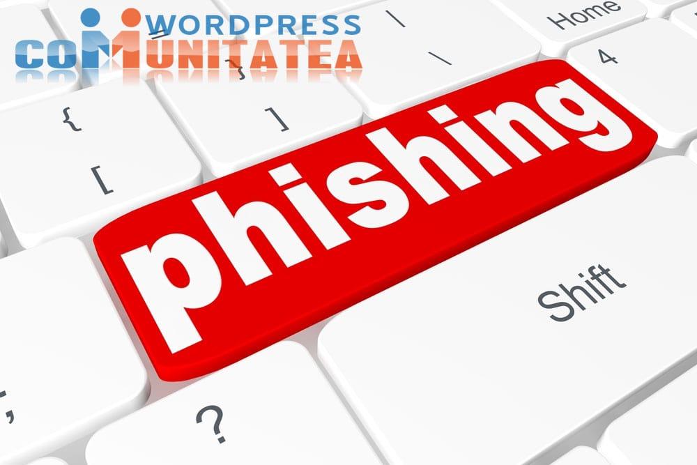 Atacuri Phishing - 3 Metode de Evitare in atacuri de tip phishing