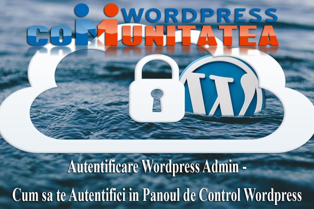 Inicio de sesión de administrador de Wordpress: cómo iniciar sesión en el panel de control