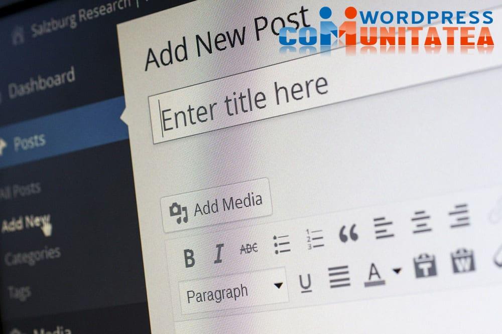 Editor Gutenberg - Cómo deshabilitarlo en Wordpress 5