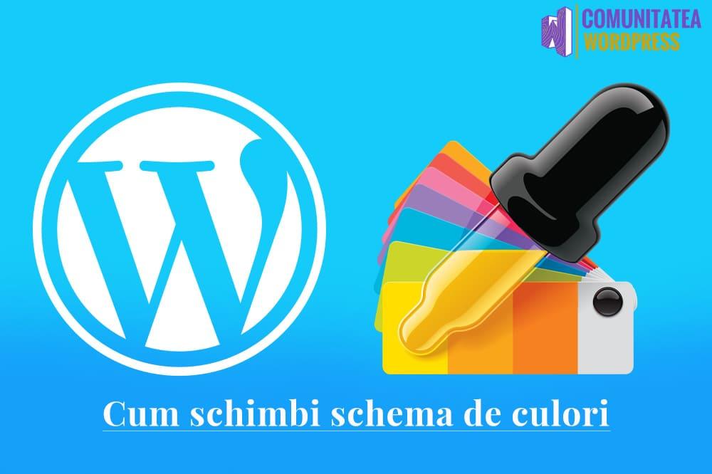 Cómo cambiar la combinación de colores en el panel de administración de WordPress