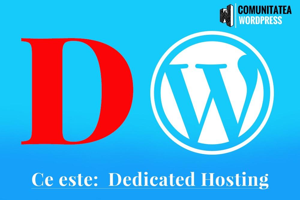 Ce este: Dedicated Hosting - Găzduire dedicată