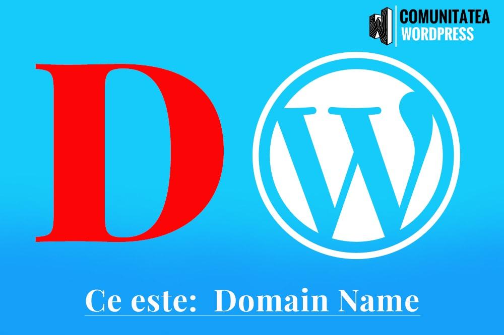 Ce este: Domain Name - Nume Domeniu