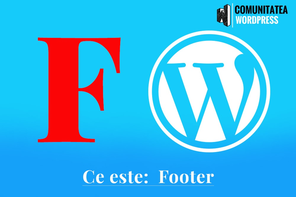 Ce este: Footer – Subsol