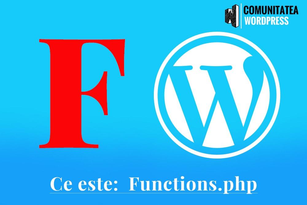 Ce este: functions.php