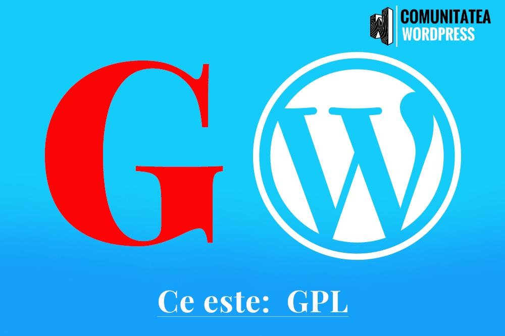 Ce este: GPL