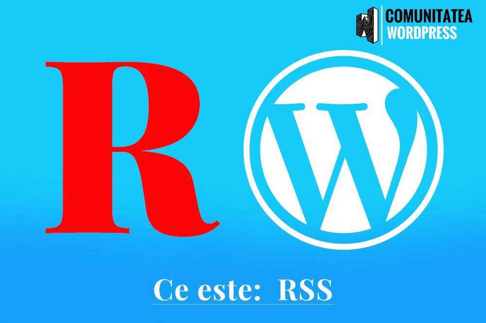 Ce este: RSS