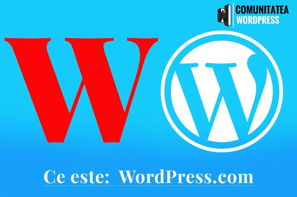 Ce este: WordPress.com