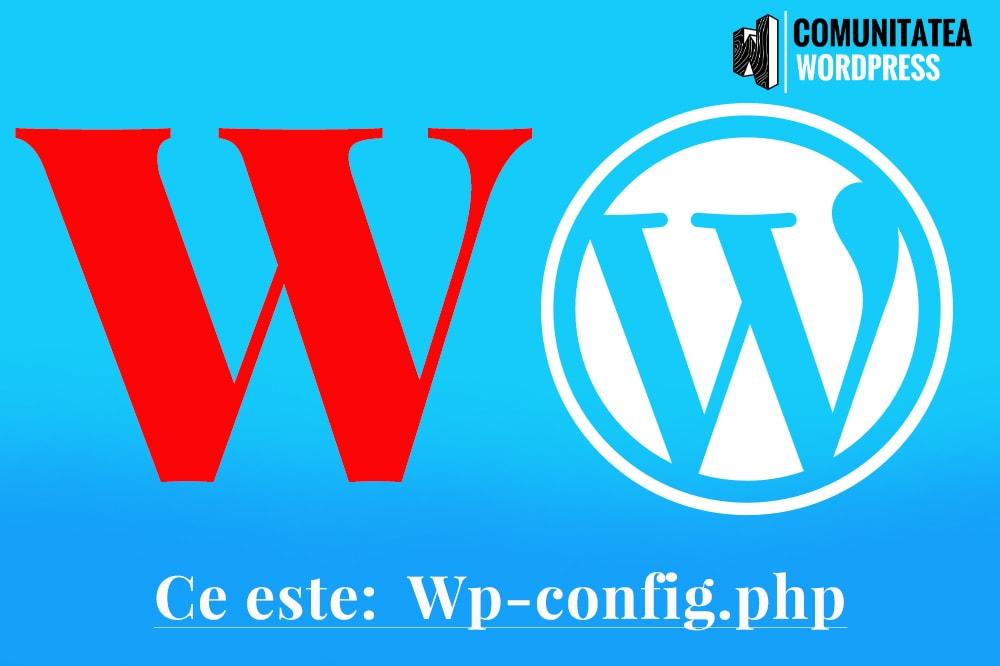 Ce este: wpconfig.php